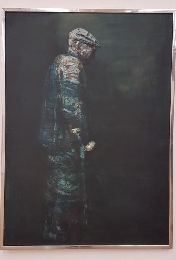 Håkon Bleken, Over og ut I, 1976. Foto fra utstillingen; Siri Wolland
