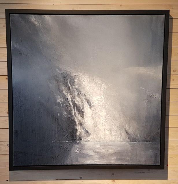 Ørnulf Opdahl, Bre. Foto fra utstillingen, Siri Wolland