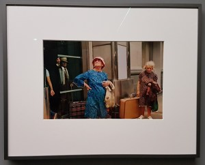 Foto Helen Levitt, New York 1973. Foto fra utstillingen; Siri Wolland.