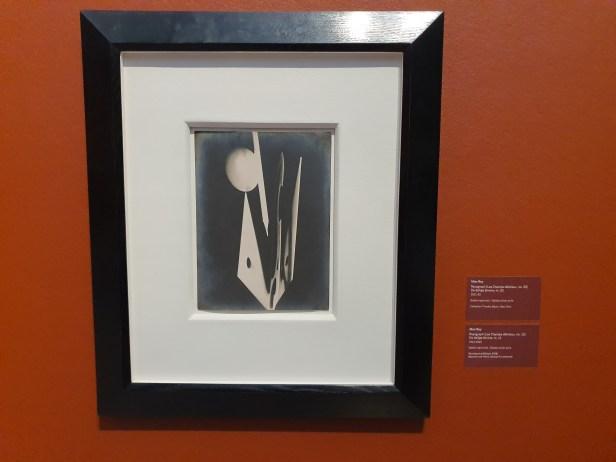 Man Ray, Rayograph (Les Champs délicieux, no. 20) De deilige åkrene, nr 20. 1921-22. Foto fra utstillingen Siri Wolland.