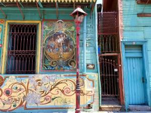 La Boca, fargerik bydel i Buenos Aires. Foto Siri Wolland.