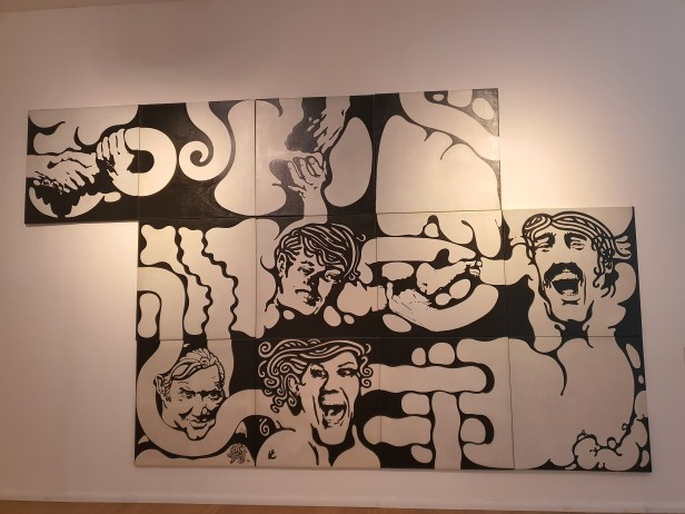 Jorge de la Vega (1930-1971), Puzzle, 1969/70. Foto fra utstillingen Siri Wolland.