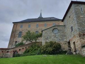 Akershus slott og jomfrutårnet til høyre i bildet. Foto Siri Wolland.