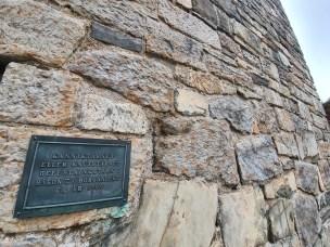 Kanikktårnet eller Knutstårnet der liket av ridder Knut Alvsson lå til spott og spe i 12 år. Foto Siri Wolland.