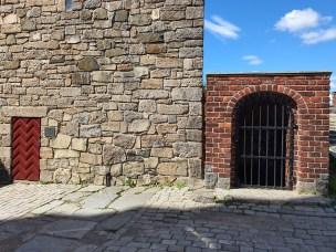 Fangehullet i Knutstårnet. Foto Siri Wolland.