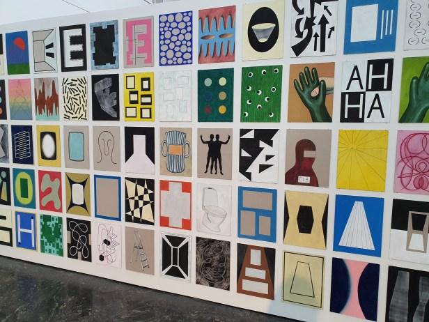 "Hilmar Fredriksen, ""Kartotek"", 1980-2020. Foto fra utstillingen Siri Wolland."
