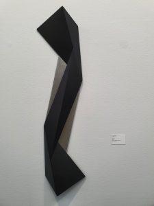 """Dag Skedsmo, """"Noland X"""", 2020. Foto fra utstillingen Siri Wolland."""