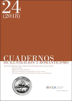 Portada de la revista con la información de la misma, un sello con un barco y el logo de la Universidad de Cádiz