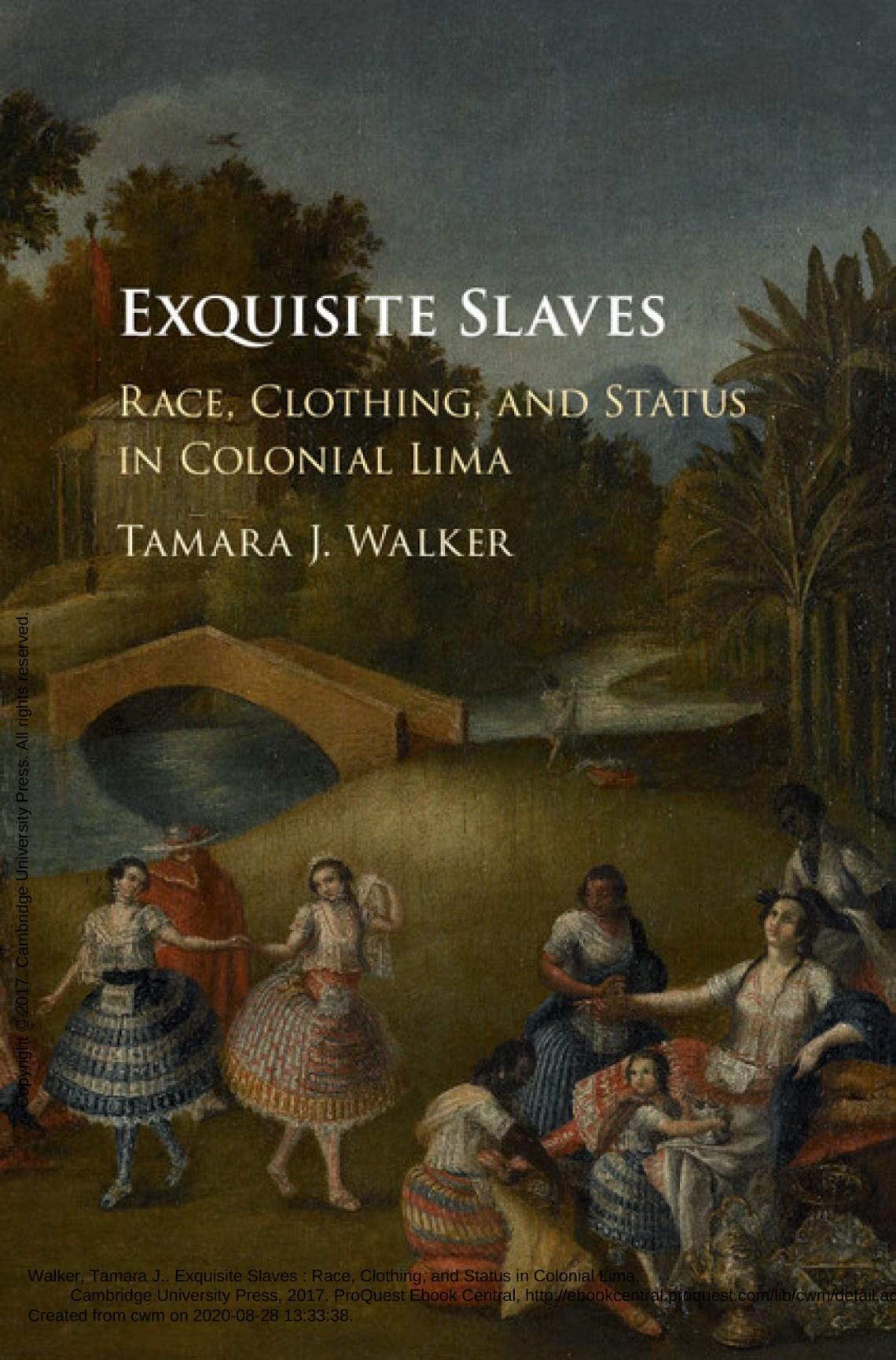 """Portada del libro """"Exquisite Slaves"""" (esclavos exquisitos)"""