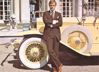 B7RGBN Gatsby le Magnifique The Great Gatsby Annee 1974 usa Robert Redford USA 1974 Realisateur Jack Clayton