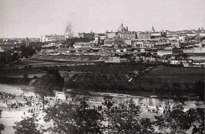 Madrid visto desde el Manzanares