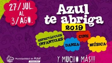 Photo of Azul te abriga 2019