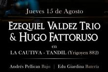 Photo of Ezequiel Valdez Trío y Hugo Fattoruso