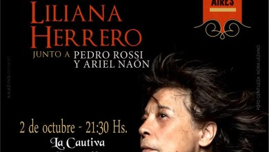 Photo of Liliana Herrero Canción sobre Canción