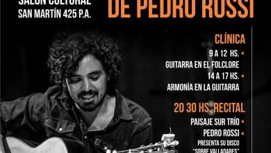 Photo of Clínica y recital de Pedro Rossi