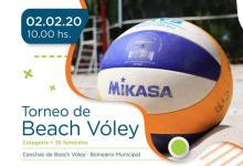 Photo of Torneo de beach vóley femenino