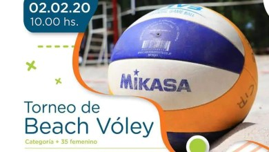 Photo of Torneo de beach vóley femenino