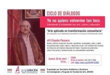 Photo of Ciclo de diálogos: #3 Claudio Pansera