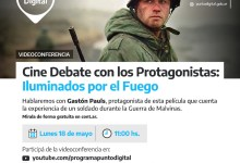 Photo of Cine Debate con los Protagonistas: Iluminados por el Fuego