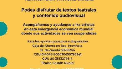 Photo of 2da acción del Fondo solidario económico para lxs trabajadxres artistas