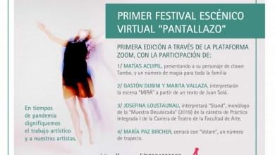 """Photo of Primer Festival Escénico Virtual """"Pantallaso"""""""