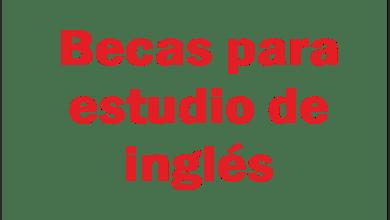Photo of Becas para estudio de inglés
