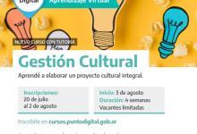 Photo of Curso en Punto Digital sobre gestión cultural