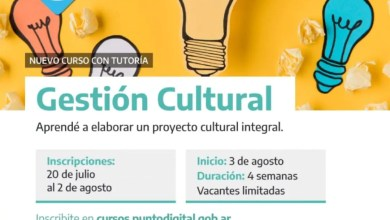 Photo of Curso en Punto Digital sobre gestión cultural