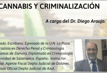 Photo of Charla sobre cannabis y criminalización
