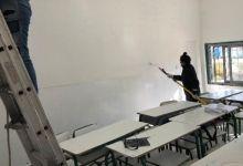 Photo of Organizaciones sociales locales realizan trabajos de pintura en escuelas pública