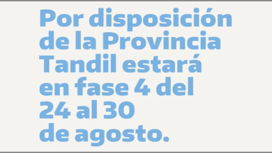 Photo of Tandil en Fase 4 ¿Qué Actividades quedan suspendidas y cuáles permitidas?