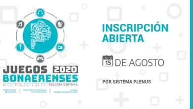 Photo of Inscribite en los Torneos Bonaerenses 2020