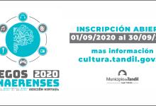 Photo of Inscripción Abierta Juegos Bonaerenses 2020 Tandil.
