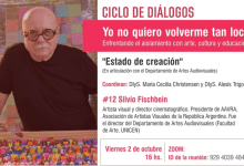 "Photo of Ciclo de diálogos: #12 ""Estado de creación"""