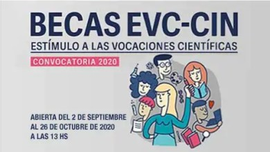 Photo of Becas EVC-CIN. Convocatoria 2020
