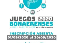 Photo of Se encuentra abierta la inscripción para los Juegos Bonaerenses 2020, edición virtual