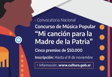 """Photo of Concurso Nacional de Música Popular """"Mi canción para la Madre de la Patria"""""""
