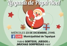 Photo of Evento virtual LLEGADA DE PAPÁ NOEL