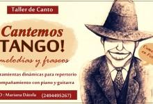 """Photo of Taller de canto :"""" Cantemos Tango""""- Coordina Mariana Dátola."""