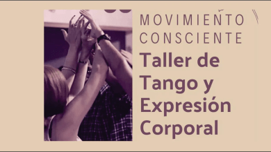 "Photo of MOVIMIENTO CONSCIENTE"" TALLER DE TANGO Y EXPRESION CORPORAL"