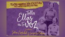 Photo of TALLER CON EL OBJETIVO DE LLEVAR A ESCENA LAS HISTORIAS DE LAS MUJERES.