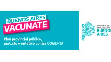 Photo of Plan provincial público, gratuito y optativo contra COVID-19