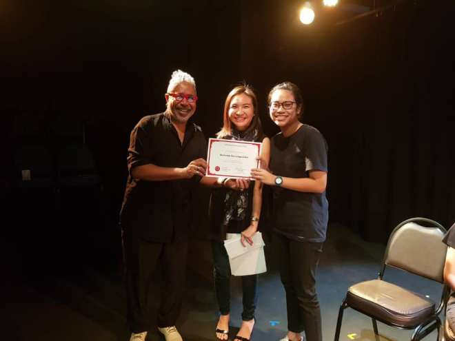 Our first ACT IT OUT! workshop!!! - CULTURE COLLECTIVE STUDIO - A Professional English Language Theatre in Bangkok, Thailand