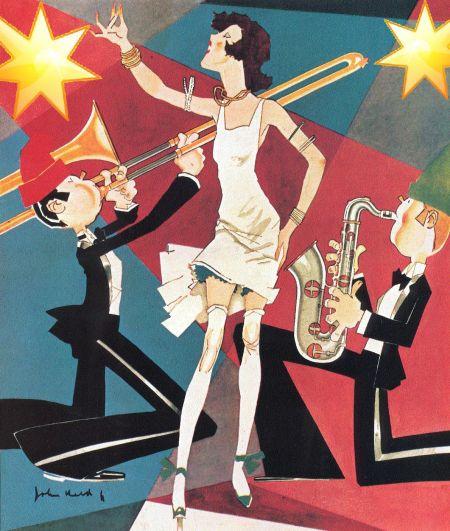 L'âge du jazz dans les années 1920