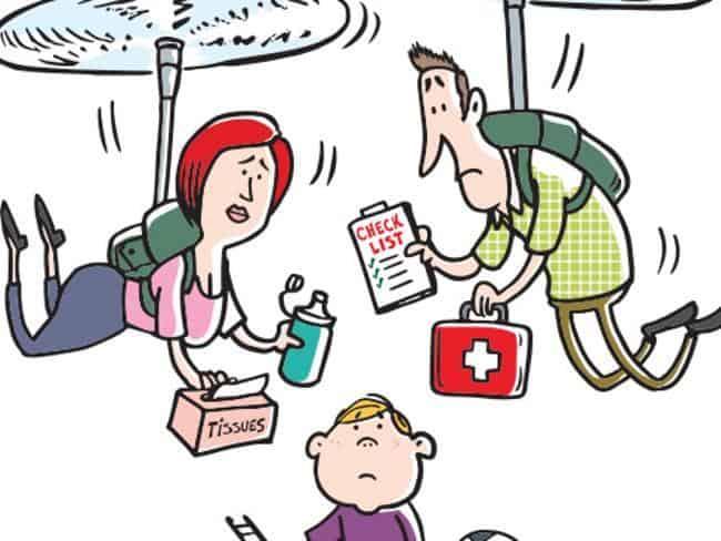PARENTS HÉLICOPTÈRES : ils empêchent leurs enfants de grandir