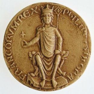 sceau Phlippe Auguste