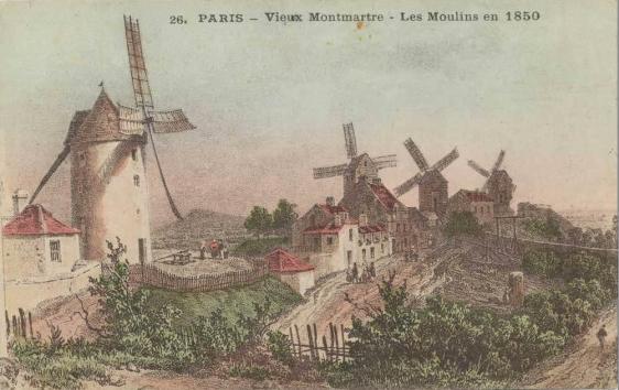 26-paris-vieux-montmartre-les-moulins-en-1850