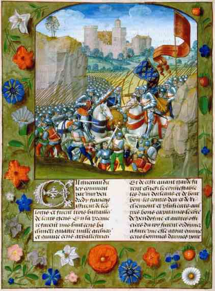 Enguerrand_de_Monstrelet_-_Slag_bij_Azincourt
