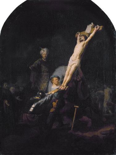 575px-Raising_of_the_Cross,_by_Rembrandt_van_Rijn