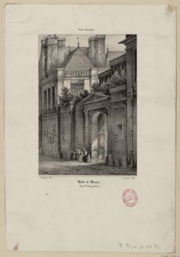 Hôtel_de_Mesmes_rue_Sainte-Avoye_Champin,_Jean-Jacques_(Sceaux,_08–09–1796_-_Paris,_25–02–1860)